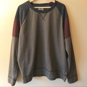 Converse One Star Crew Neck patch work sweatshirt
